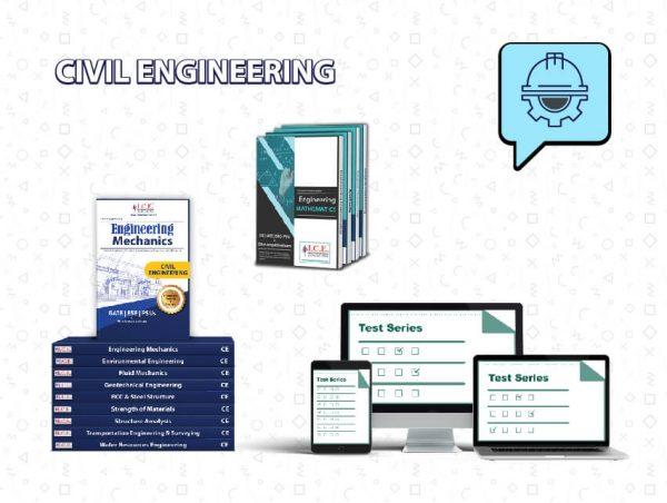 GATE Civil Engineering Books + Test Series