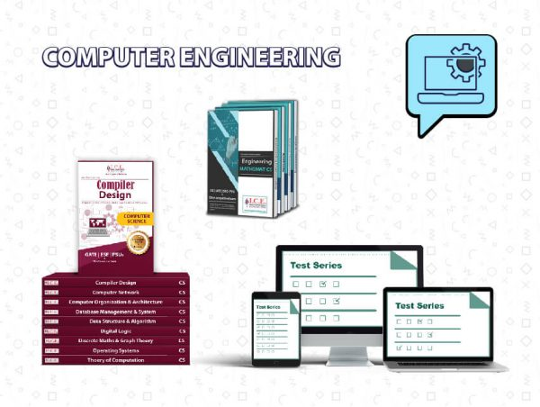 GATE Computer Engineering Books + Test Series