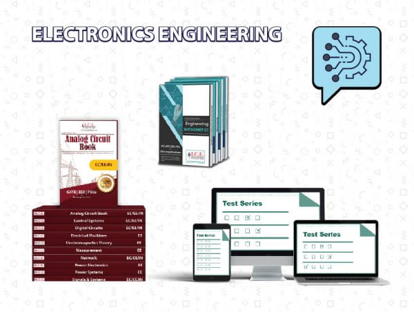 GATE Electronics Engineering Books + Test Series