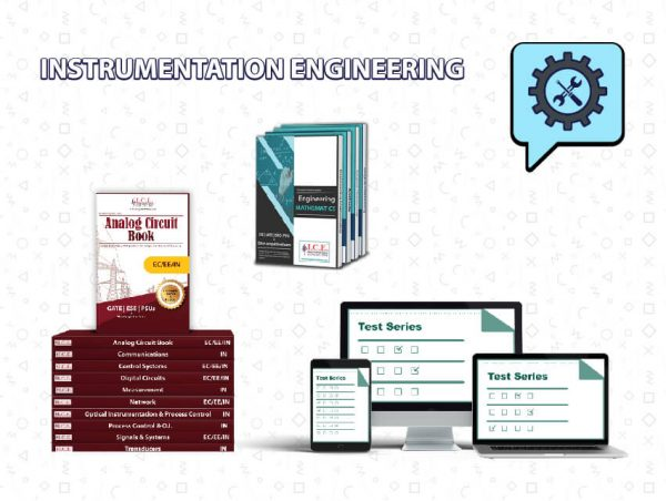 GATE Instrumentation Engineering Books + Test Series