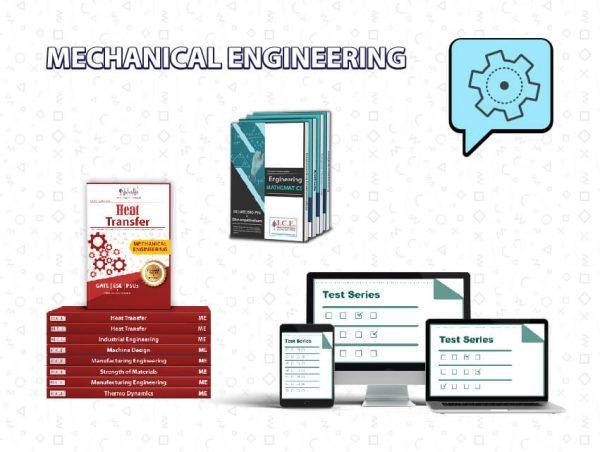 GATE Mechanical Engineering Books + Test Series
