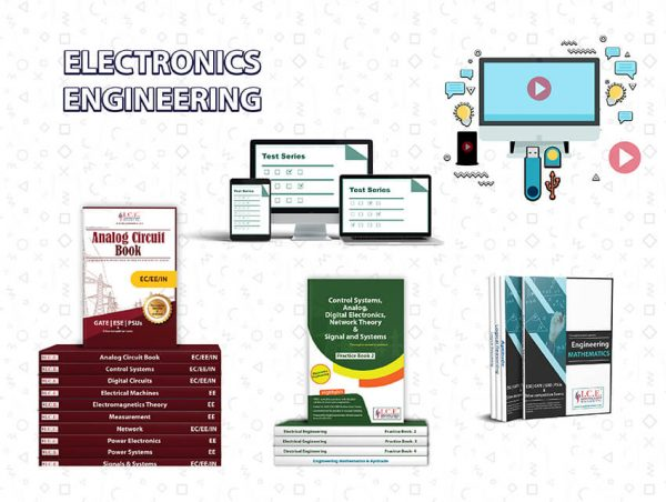 Electronics Engineering Theory Book + Practice Book + Pendrive Lecture + Test Series