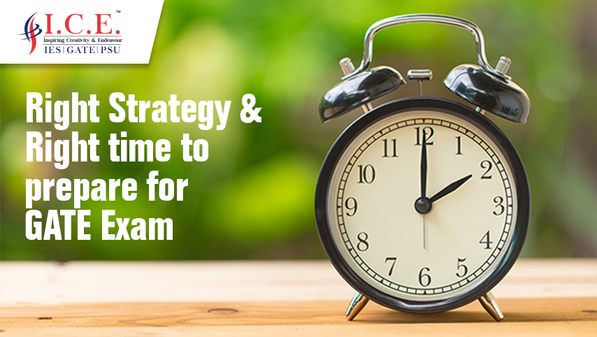Right Strategy and Right Time to Prepare for GATE Exam